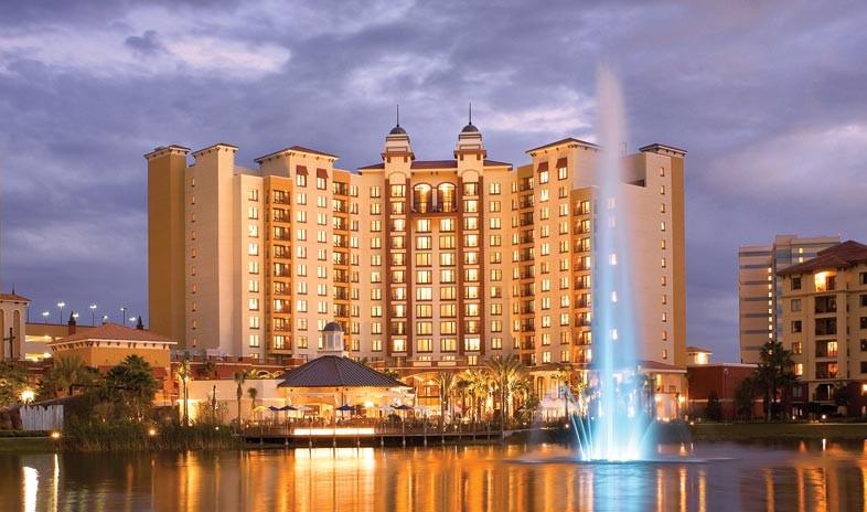 Orlando Wedding Hotel Resort Wyndham Grand Orlando Bonnet