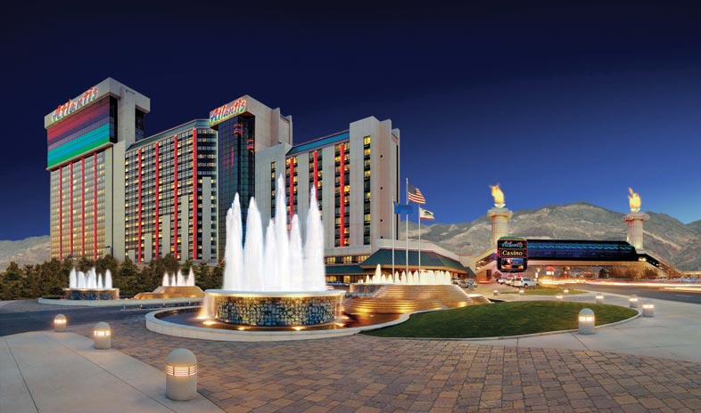 Downtown Reno Hotel and Casino Map  Vegastrippingcom