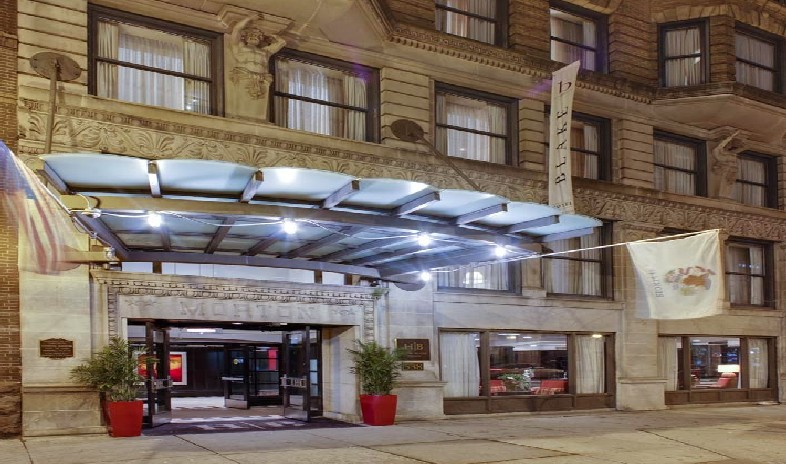 Chicago illinois united states meeting and event space for The blake hotel chicago